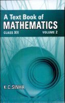 A Text Book of Mathematics XII Vol. 2