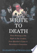Write to Death