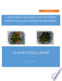 A housewife challenge plan for family weight loss & self-esteem improvement