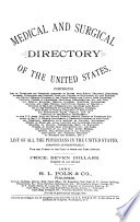 Polk s Medical Register and Directory of the United States and Canada