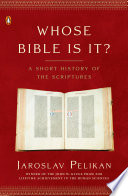 Whose Bible Is It