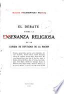 El debate sobre la enseñanza religiosa