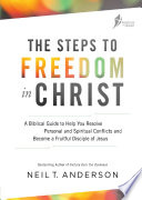 Steps To Freedom In Christ Workbook : ...