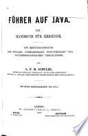 F Hrer Auf Java Ein Handbuch F R Reisende