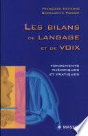 Les bilans de langage et de voix