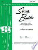 String Builder  Book I