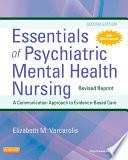 Essentials of Psychiatric Mental Health Nursing   Revised Reprint