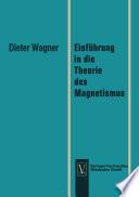 Einf  hrung in die Theorie des Magnetismus