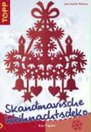 Skandinavische Weihnachtsdeko aus Papier
