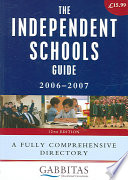 The Independent Schools Guide 2006   2007