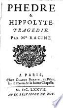 Ph  dre   Hippolyte