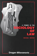 A primer in the sociology of law
