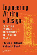 Engineering Writing by Design Is Why Engineering Material Should Be Written