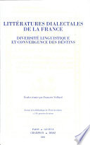 Litteratures Dialectales de la France