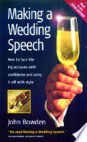 Making a Wedding Speech
