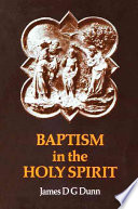 Baptism in the Holy Spirit Gift Of The Spirit In