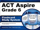 Act Aspire Grade 6 Flashcard Study System