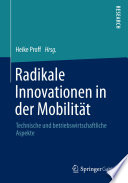 Radikale Innovationen in der Mobilit  t