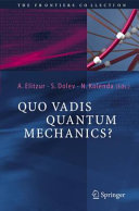 download ebook quo vadis quantum mechanics? pdf epub