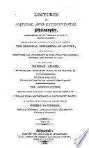 Lectures on Natural and Experimental Philosophy
