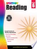 Spectrum Reading Workbook  Grade 6