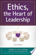Ethics  the Heart of Leadership  3rd Edition