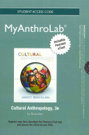 Cultural Anthropology MyAnthroLab Access Code