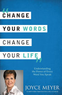 Ebook Change Your Words, Change Your Life Epub Joyce Meyer Apps Read Mobile