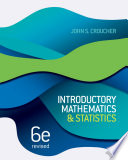 Introductory Mathematics And Statistics Revised Sixth Edition