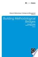 Building Methodological Bridges