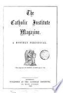 The Catholic Institute Magazine Afterw The Institute