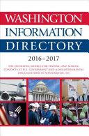 Washington Information Directory 2016 2017