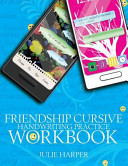 Friendship Cursive Handwriting Practice Workbook