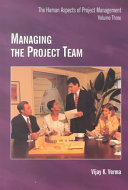 Book Managing the Project Team