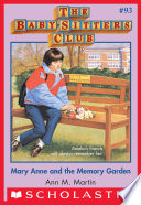 The Baby Sitters Club 93 Mary Anne And The Memory Garden
