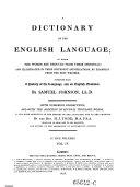 download ebook a dictionary of the english language pdf epub