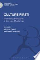 Culture First!