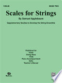 Scales for Strings  Book II