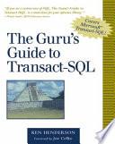 The Guru s Guide to Transact SQL