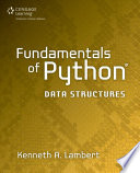 Fundamentals of Python  Data Structures  1st ed