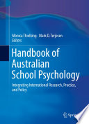 Handbook Of Australian School Psychology : psychology with a focus on standards unique to...