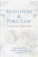 Institutions & Public Law
