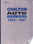 Chilton s Auto Repair Manual  1993 1997