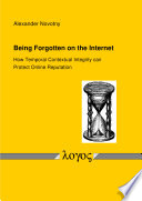Being Forgotten on the Internet