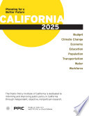 California 2025 Planning For A Better Future
