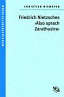 Friedrich Nietzsches  Also sprach Zarathustra