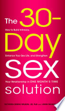 The 30 Day Sex Solution