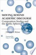 Moving Beyond Academic Discourse