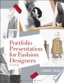 Cover of Portfolio presentation for fashion designers