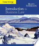Cengage Advantage Books  Introduction to Business Law